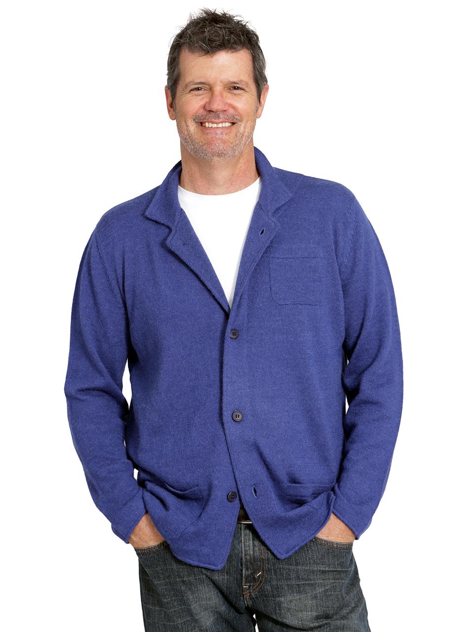 13bef3c7da01 Men s The Batted Blazer Cardigan Alpaca Sweater