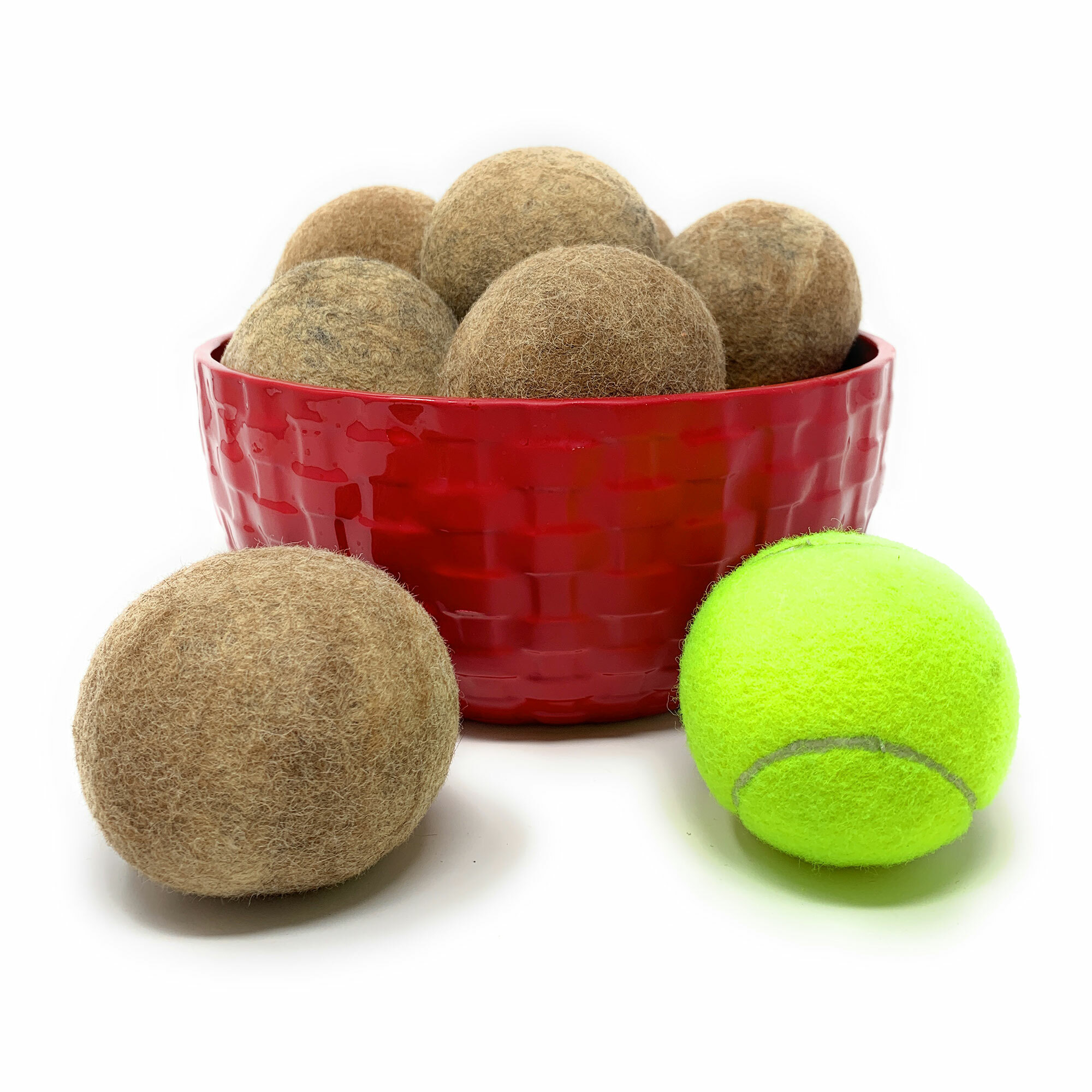 100% Alpaca Wool Dryer Balls -  Group