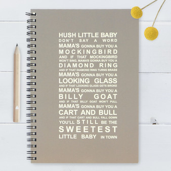 Hush Little Baby Journal