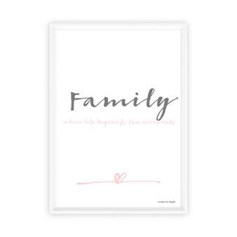 Family Instant Digital Downloadable Print