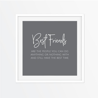 Best Friends - You Can Do Anything With Instagram Square | Print
