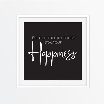 Don't Let the Little Things Instagram Square | Print