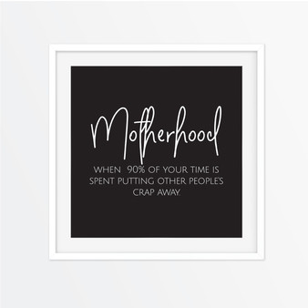 Motherhood Instagram Square | Print