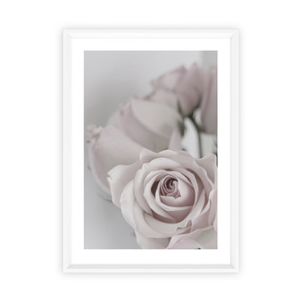 Tatiana Rose Photographic Wall Art Print in optional deep rebate white timber frame