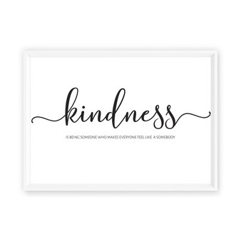 Kindness is... - Free Digital Print