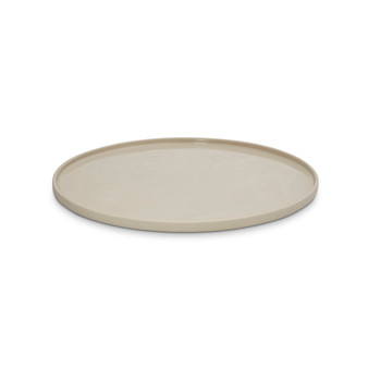 Marmoset Found - Cloud Round Platter Chalk White L