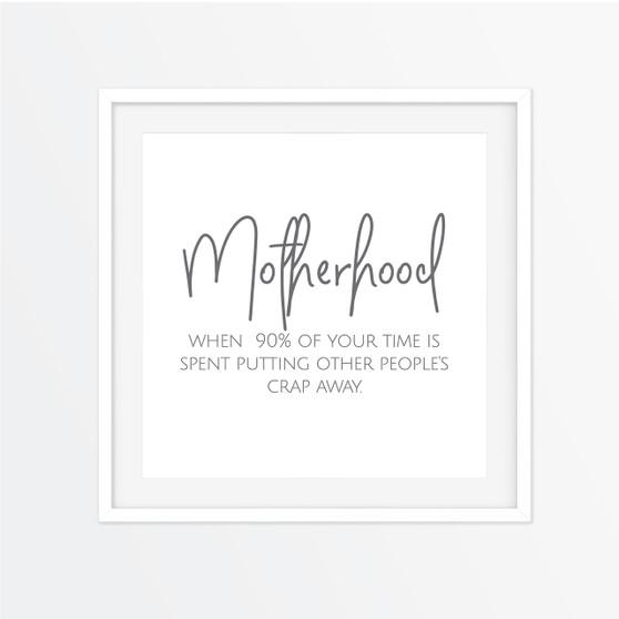 Motherhood Instagram Square | Print