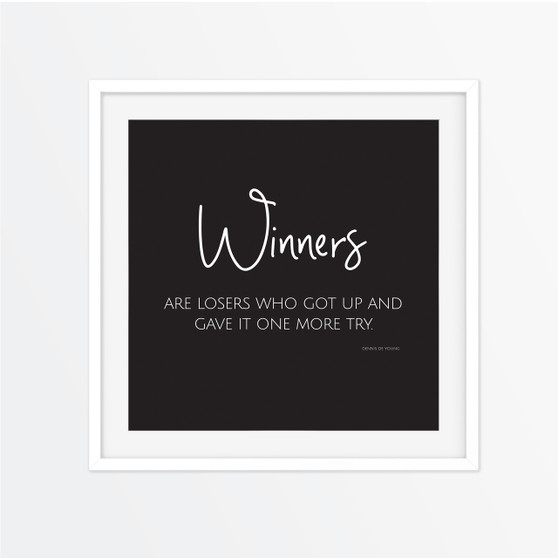 Winners Instagram Square | Print