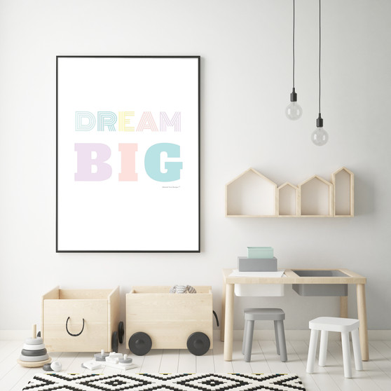 Dream Big - Free Digital Print