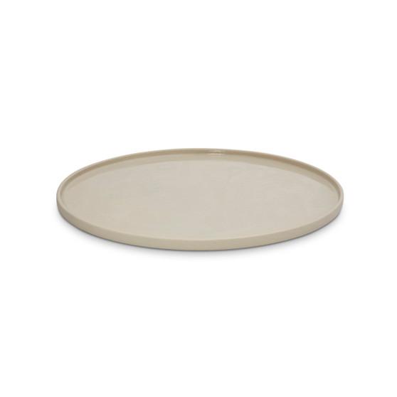 Marmoset Found - Cloud Round Platter Chalk White L