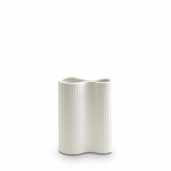 Marmoset Found - Ribbed Infinity Vase - Snow (S)