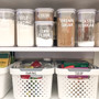 Custom - Home Organisation Pantry Labels in Funky Font - White