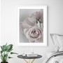 Tatiana Rose Photographic Wall Art Print in optional deep rebate white timber frame