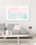 Serenity Sunrise - Abstract Watercolour Wall Art Print