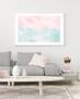 Serenity Sunrise - Abstract Watercolour Wall Art Print