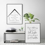 Home and Family Blessings, shown with May Our Walls Know Joy