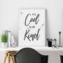 It's Cool to be Kind - Free Digital Print