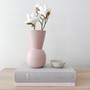 Marmoset Found - Cloud Bell Vase Icy Pink (S), shown with Marmoset Found - Cloud Bowl Chalk White (XS)