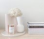 Marmoset Found - Smooth Infinity Vase Nude (M) with Cloud Bell Vase - Snow