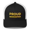 Trucker Cap - Proud Beekeeper - GLD