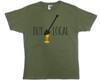 Olive Green Buy Local Honey T-shirt