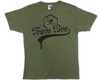 Team Bee Olive Green T-shirt