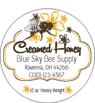 Creamed Honey Labels [CHLC]