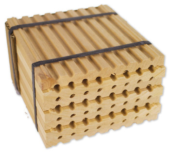 Wood Tray for Spring Mason Bees [M9203]