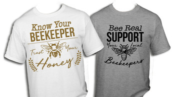 Know/Support Your Beekeeper T-Shirt [MPT]