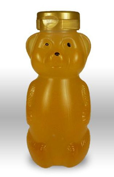 12 oz. wt. Plastic Hazy Belly Bear (case of 50) [HZBR-12]