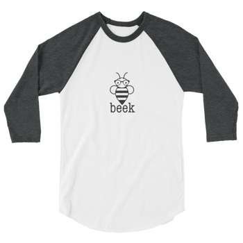Beek Baseball T-Shirt (black design)