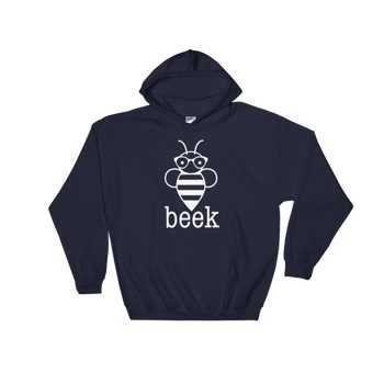 Hooded Sweatshirt - Beek WHT