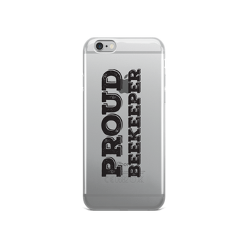 iPhone Case - Proud Beekeeper (black)