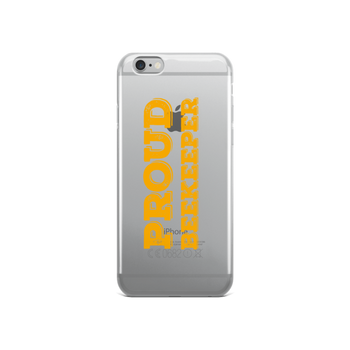 iPhone Case - Proud Beekeeper (gold)