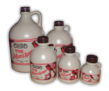 OHIO Maple Syrup Jug Variety Box (includes all caps) [MSJ-VAR-OH]