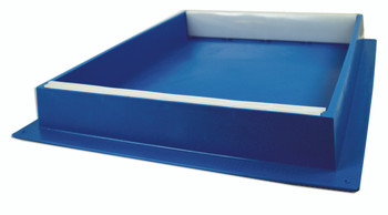Blue Plastic 10 Frame Hive Top Feeder [423]