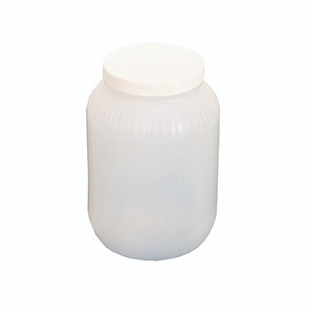1 Gallon (12 lbs. wt. Plastic Jugs (case of 4 w/lids) [1G-JUG]