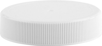 White Plastic Unlined Lids for Glass Classics [48-CP / 63-CP]