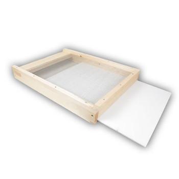10 Frame WOOD Screened Bottom Board [10-SCR]