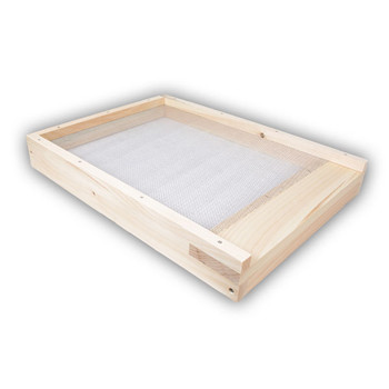 8 Frame WOOD Screened Bottom Board [8-SCR]
