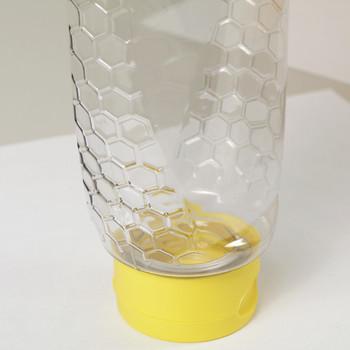1 lb. wt. Inverted Deco Embossed Container (case of 364/no caps) [IV-16]
