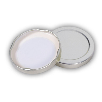 58mm LUG Plain Gold Metal Lids