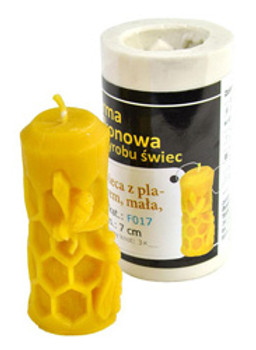 Small Honeycomb Candle Mold [F017]
