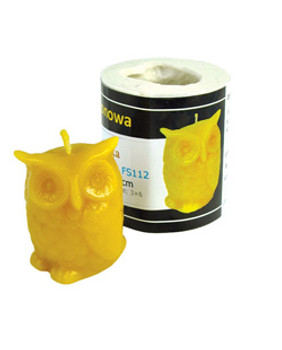 Owl Candle Mold [FS112]