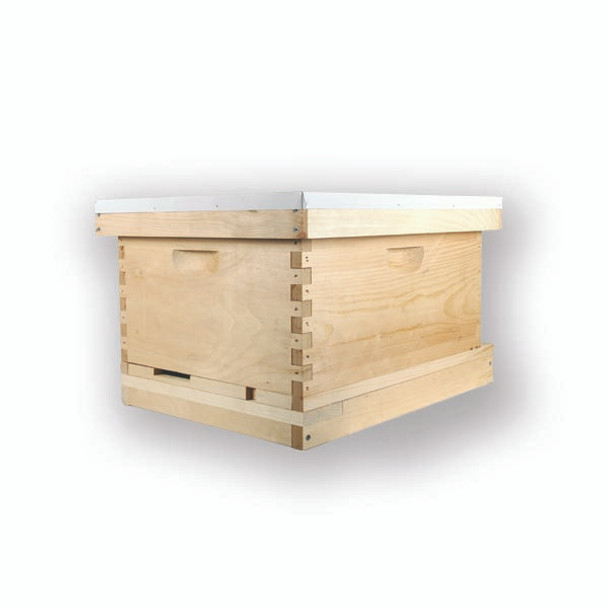 8 Frame WOOD Deep HIVE KIT (Boxes and Frames are Unassembled) (Choose Kit  w/1 Box or 2) [HKIT-8-1 / HKIT-8-2]