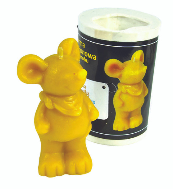 Mouse w/Scarf Candle Mold [FS120]