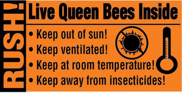 Live Queens Shipping Labels [D4806]