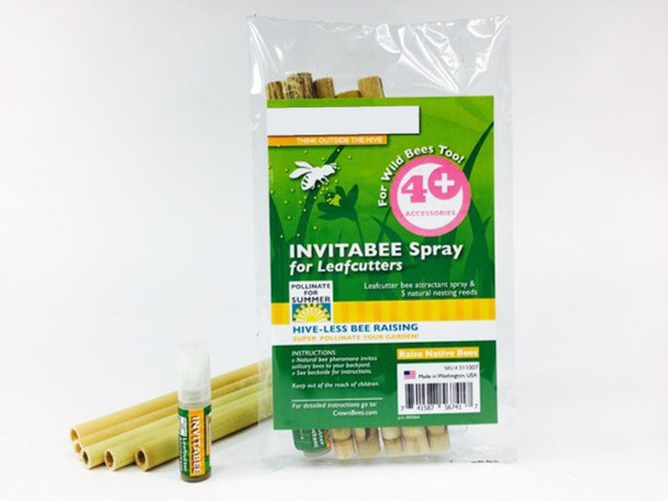 InvitaBee™ Spray Leafcutter Bee Attractant
