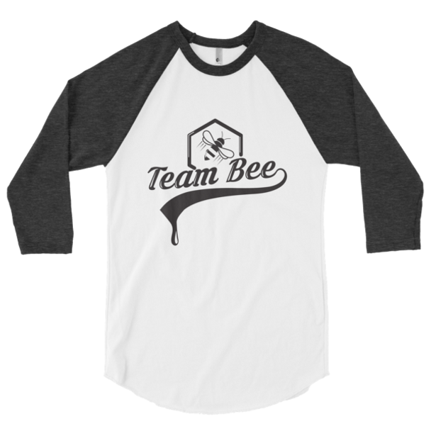 3/4 sleeve raglan shirt - Team Bee BLK