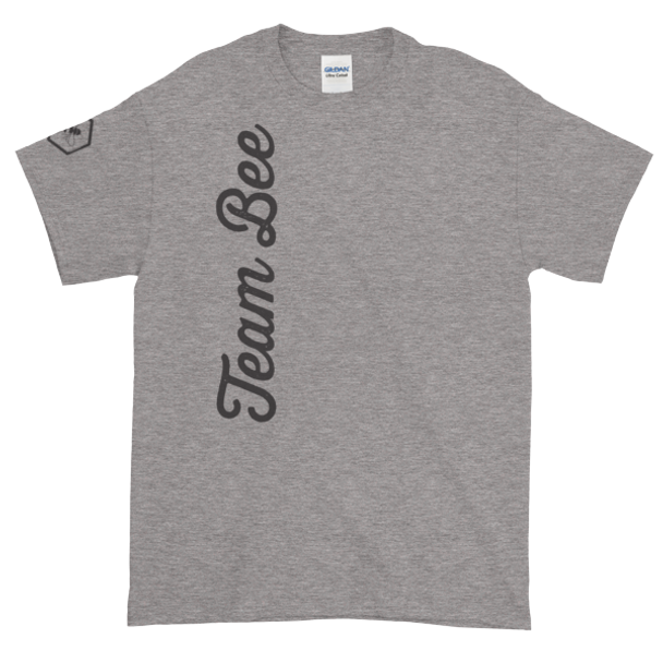 Short-Sleeve T-Shirt - Team Bee with Sleeve Graphic